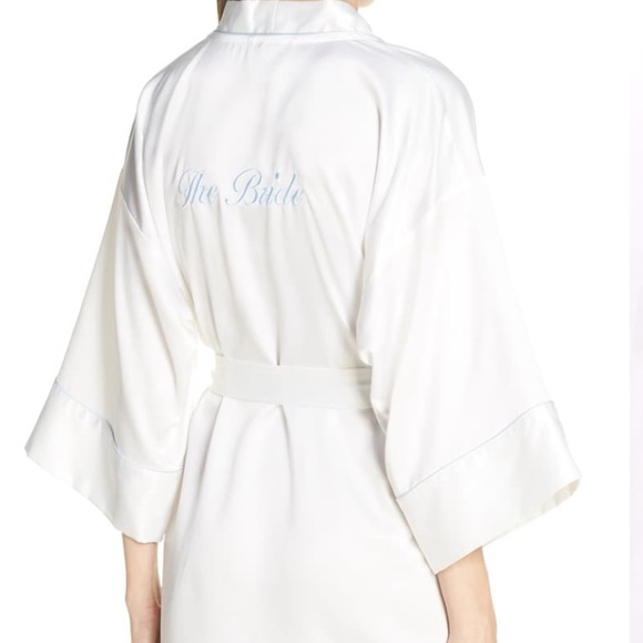 IN BLOOM BY JONQUIL 'For the Bride' Robe- NWOT